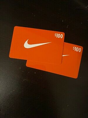 $100 Nike Gift Card Physical Gift Cards
