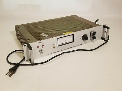 Thorn EMI Electron Tubes High Voltage Power Supply Type PM28RA Rack Mounted
