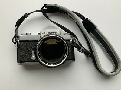 Nikkormat FT with Nikkor 105mm f2.5 Lens, both Super and in Excellent Condition!