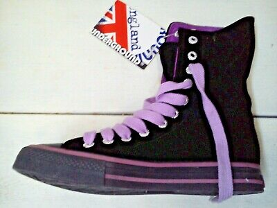 SNEAKERS UNDERGROUND ENGLAND SACRED BLACK VELVET EU37 out of production