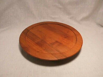 Lüthje Teak Rotary Plate Rotary Tray Lazy Susan Danish Design 60s 60er Vintage