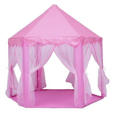 Play Fairy House Indoor And Outdoor Kids Play Tent Hexagon Princess Castle  X1Z5