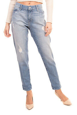 RRP €225 KORAL Jeans Size 30 SELVEDGE Stretch Ripped Relaxed Skinny Made in USA