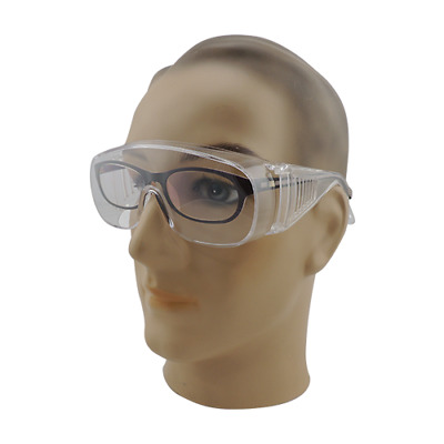 Safety eye protection goggles glasses protective work paint dust Anti-UV clear