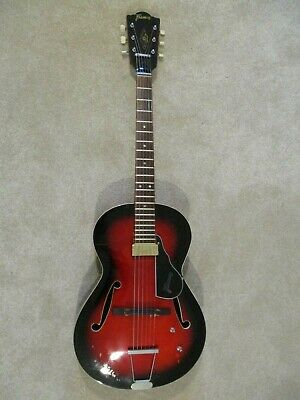 Framus Guitar:Vintage Parlour:1970s:Archtop:Electro-acoustic:Well looked after.