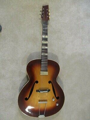 Framus Guitar:Vintage 1950s:Archtop:Electro-acoustic:Well looked after.