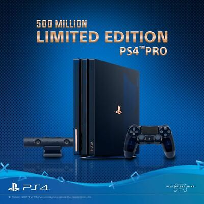 Factory Sealed PlayStation 4 Pro 500 Million 2TB Limited Edition Console (PS4)