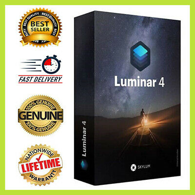 ✔Luminar v4 2020 for PC Win🔑Lifetime Activated🔥 Instant Delivery