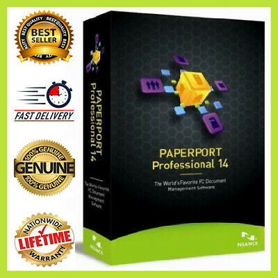✔Nuance PaperPort 14.5 Professional 🔑Lifetime Activated🔥  Instant Delivery