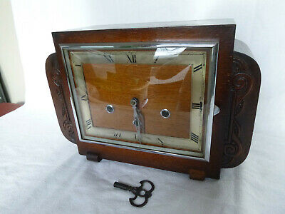 Art Deco German Gufa Quarter Chime Westminster Mantel Clock