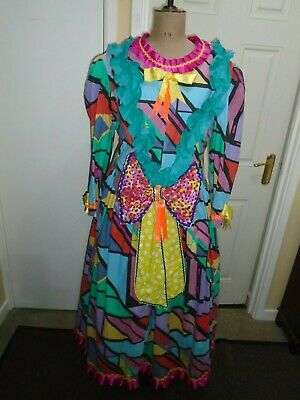 Pantomime Dame dress  52 inch chest worker dress