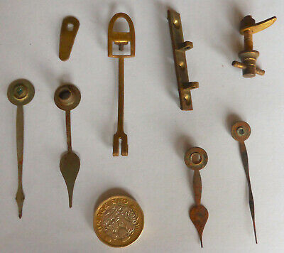 Small Collection of Vintage Clocks Spare Parts