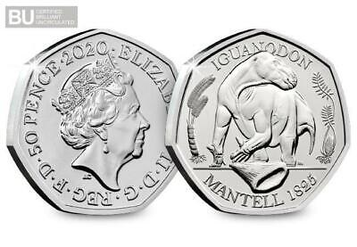 DINOSAUR 50p Coin 2020 CALLED THE  IGUANDON ROYAL MINT NEW RELEASE  Preorder