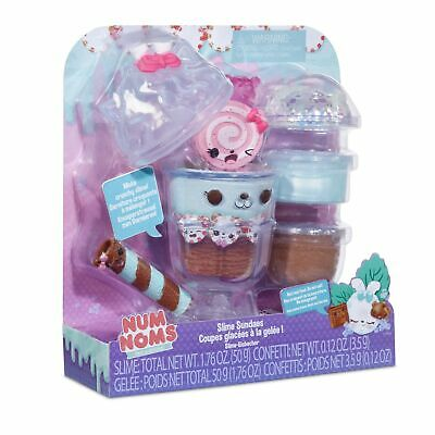 Num Noms SNACKABLE SLIME SUNDAES - MINT CHOCOLATE CHIP Flavour Toy Playset
