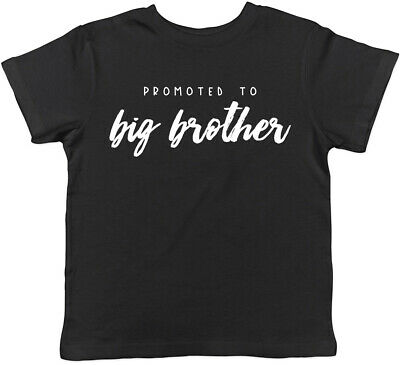 Promoted To A Big Brother Lion Baby Announcement Boys Children/'s Kids T-Shirt