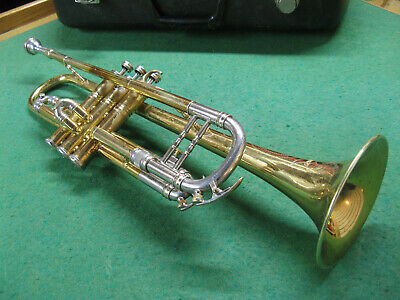 Keilwerth Tone King Deluxe Trumpet with Original Case and Bach 7C Mouthpiece