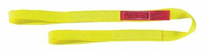 Lift-all 24 ft. Flat Eye and Eye - Type 3 Web Sling, Nylon, Number of Plies: 1,