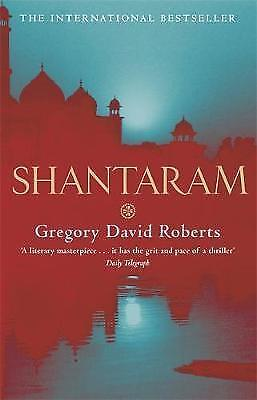 Shantaram by Roberts, Gregory David Paperback Book