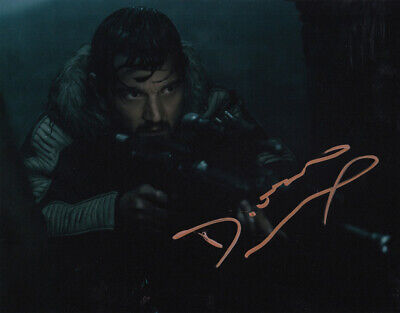 Diego Luna signed STAR WARS 10x8 photo AFTAL & UACC [16601] FULL Signing Details