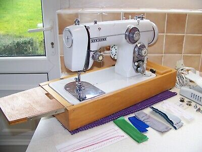 Japanese Janome Newhome 672 Z/Zag Semi Industrial Sewing Machine,Expert Serviced