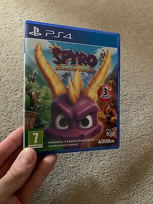 Spyro Reignited Trilogy PS4 GAME MINT CONDITION