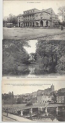 Vintage Black and White Postcards Circa 1800's-1900's Lot of 5 *
