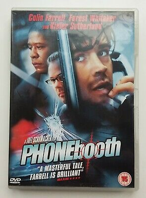 PHONE BOOTH DVD Film Movie Colin Farrell Kiefer Sutherland Crime Drama Thriller