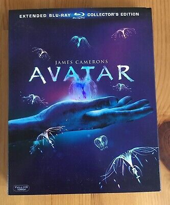 Avatar - Extended Bluray Collector´s Edition (3 Blurays)