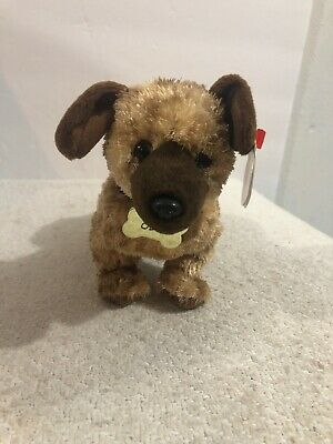 From Garfield the Movie Ty Beanie Baby ~ ODIE the Dog 5.5 Inch MWMT