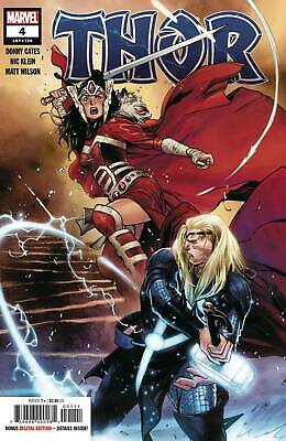 Thor #4 2020 Stegman Cover (Cates) Black Winter Nm Or Better