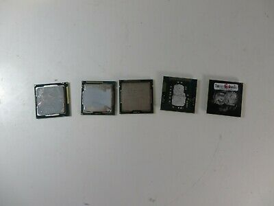 Intel iCore Chips, iCore 3 and iCore 5 ( 5 peices) Used  & in working condition.