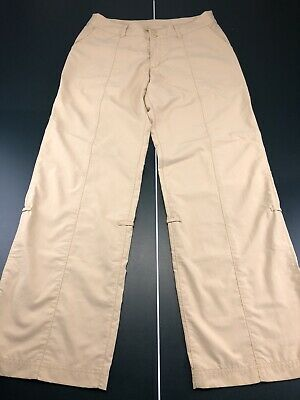 Patagonia Women's Outdoor Hiking Casual Nylon Roll Up Pants Size 8