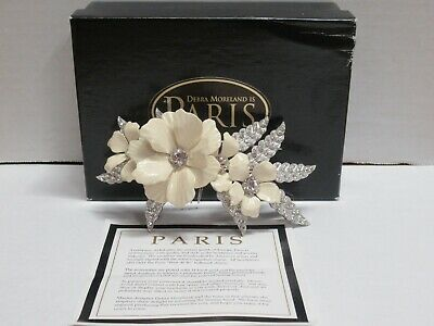 Paris By Debra Moreland Undertow Brooch/Hair Comb Pre-Owned Free Shipping