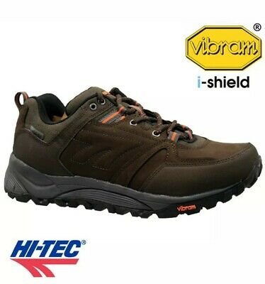 MENS HI TEC LEATHER V-LITE VIBRAM WALKING HIKING WINTER BOOTS TRAINERS size UK 7