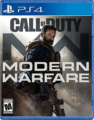 Call of Duty Modern Warfare (PlayStation 4 PS4, 2019) Brand New Sealed!