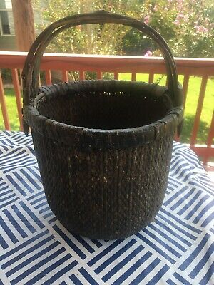 Mid-19th Century Antique Chinese Water Basket