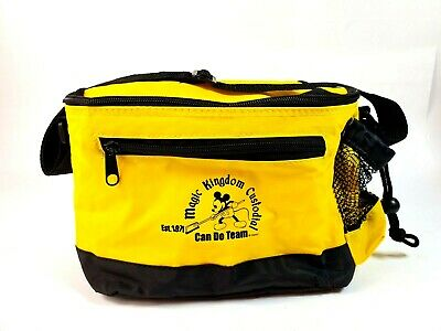 Walt Disney World Magic Kingdom Custodial Cast Exclusive Cooler Insulated Bag