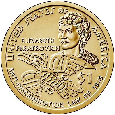 2020  P&D Mint  Sacagawea Native American Dollars  <>  Mint State BU Condition .