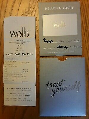Wallis gift voucher £100 for use in store or online.