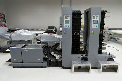 Duplo System 5000 Air-Feed Collator & DBM120 Automated Booklet Maker – Horizon M