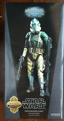 "Sideshow Collectibles Militaries of Star Wars 1:6 12"" Commander Gree EXCLUSIVE"