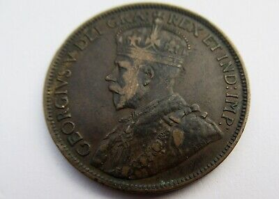 Rare 1915 Canada George V Large Cent High Grade World War I Penny 1C Piece Lots