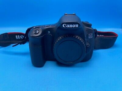 CANON  60D 18.0MP Digital SLR Camera- Black (Body Only)! USPS 2-3 days!!!!!!!!!!