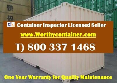 New Shipping Container / 20ft HC One Trip Shipping Container in Detroit, MI