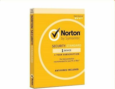 Norton Internet Security Standard 2020 1 device 1 Year Fast Email License Key AU
