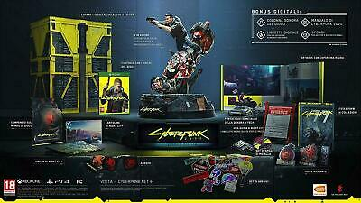 cyberpunk 2077 collector's edition versione italiana ps4 playstation 4