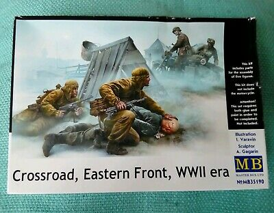 MASTERBOX U.S./& GERMAN PARATROOPERS THE SOUTH EUROPE 1944 Scala 1:35 cod.MB35157