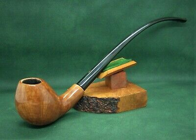 Exquisite Hand Made Nording Egg Church Warden Unsmoked? Estate Pipe
