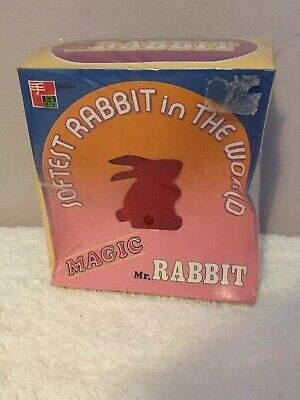 Tenyo Magic T-95 Mr Rabbit Still Sealed Unopened Vintage Magic Trick Original