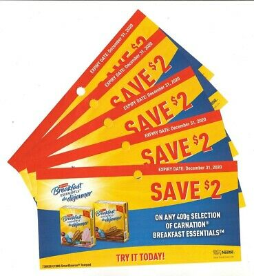 15x Save $2.00 on Carnation  Breakfast Coups Dec 31 2020 (Canada)